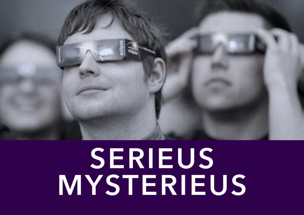 Flyer Serieus Mysterieus Voorkant